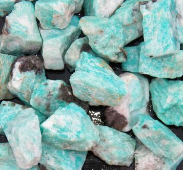 amazonite, brazil, tumbling rock, rough stones, metaphysical, crystal healing, smoky quartz, madagascar