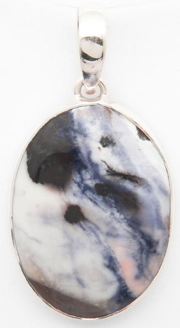 d988cb21a photo of tiffany stone / opalized fluorite pendant